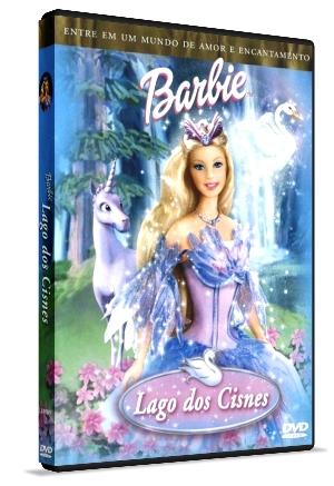 DVD Barbie  O Lago Dos Cisnes